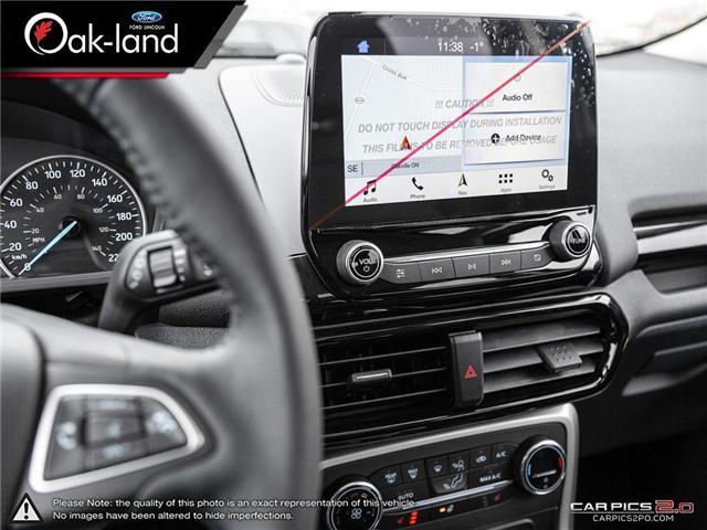 2019 Ford EcoSport Titanium (Stk: 9P006) in Oakville - Image 16 of 25