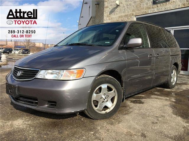 2000 Honda Odyssey EX 7 PASS, ALLOYS, POWER DRIVER SEAT, POWER SLIDIN (Stk: 43490A) in Brampton - Image 1 of 22