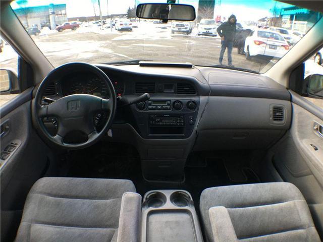 2000 Honda Odyssey EX 7 PASS, ALLOYS, POWER DRIVER SEAT, POWER SLIDIN (Stk: 43490A) in Brampton - Image 13 of 22