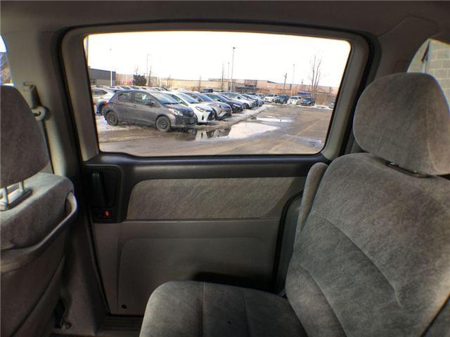 2000 Honda Odyssey EX 7 PASS, ALLOYS, POWER DRIVER SEAT, POWER SLIDIN (Stk: 43490A) in Brampton - Image 17 of 22