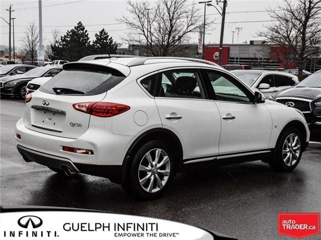 2017 Infiniti QX50 Base (Stk: I6838A) in Guelph - Image 6 of 23