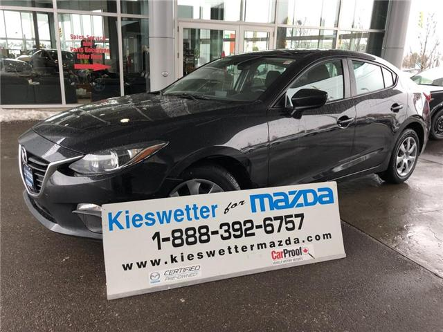 2016 Mazda Mazda3 GX (Stk: U3752) in Kitchener - Image 1 of 27