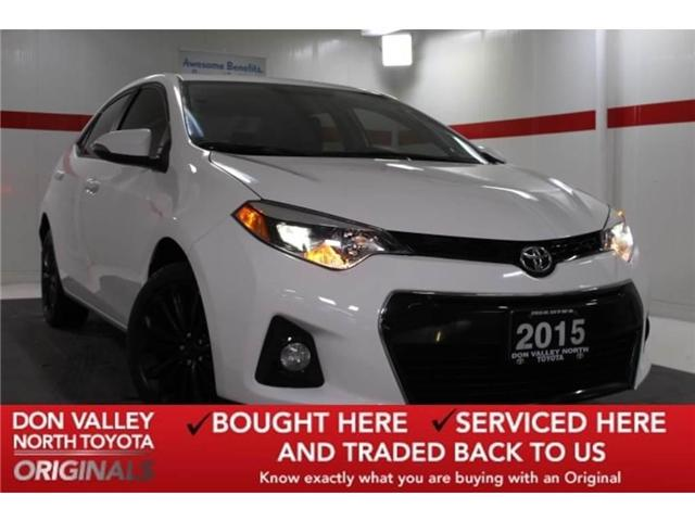 2015 Toyota Corolla  (Stk: OR297369S) in Markham - Image 1 of 24
