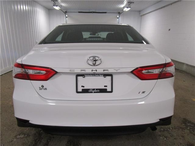 2018 Toyota Camry LE (Stk: 126814 ) in Regina - Image 9 of 25