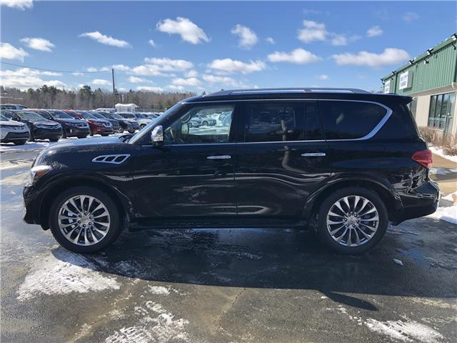 2017 Infiniti QX80 Base 8 Passenger (Stk: 10257) in Lower Sackville - Image 2 of 31