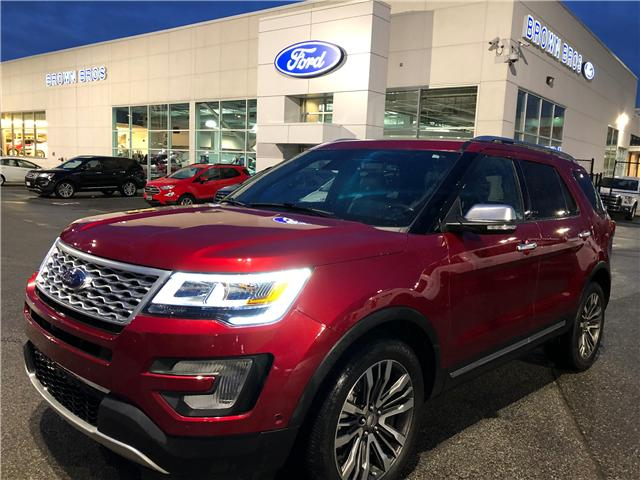2017 Ford Explorer Platinum (Stk: RP1949) in Vancouver - Image 1 of 25