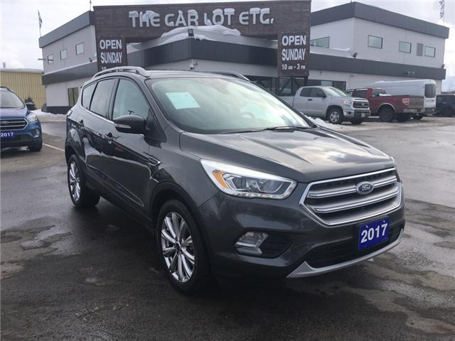 2017 Ford Escape Titanium (Stk: 19077) in Sudbury - Image 1 of 16