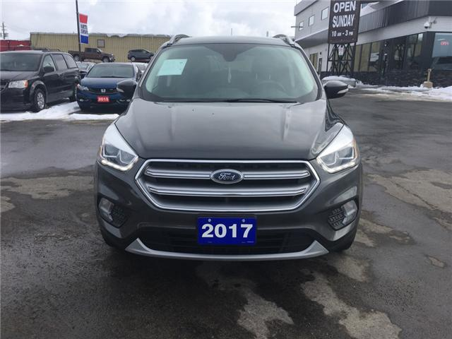 2017 Ford Escape Titanium (Stk: 19077) in Sudbury - Image 2 of 16