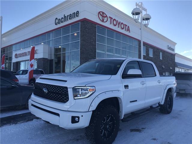 2018 Toyota Tundra Platinum 5.7L V8 (Stk: 180183) in Cochrane - Image 1 of 23