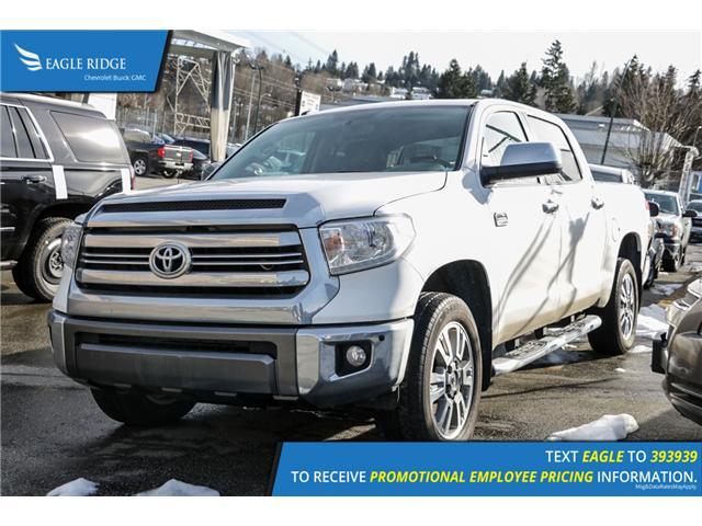 2017 Toyota Tundra Platinum 5.7L V8 (Stk: 179653) in Coquitlam - Image 1 of 5