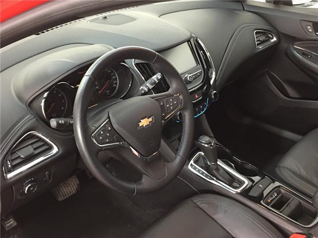 2018 Chevrolet Cruze Premier Auto (Stk: 34339J) in Belleville - Image 16 of 30