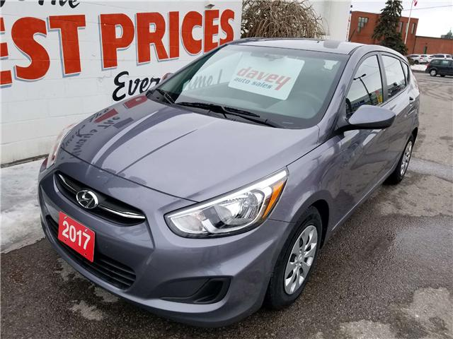 2017 Hyundai Accent GL (Stk: 19-118) in Oshawa - Image 1 of 14