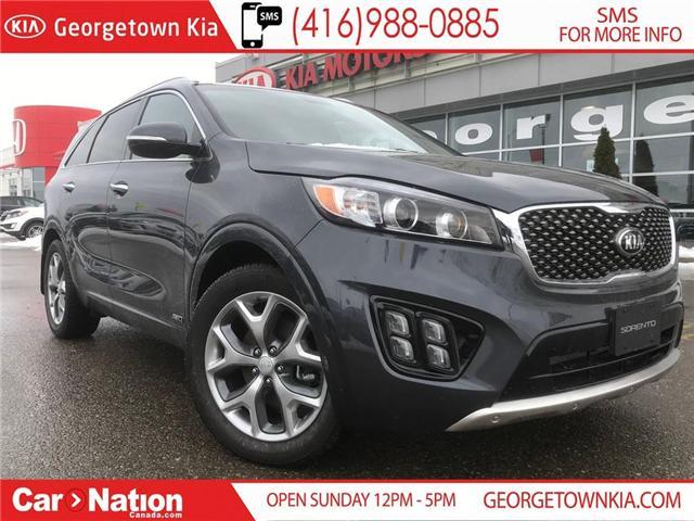 2018 Kia Sorento SX V6 | 7 PASSENGER | LOADED | BRAND NEW | (Stk: SR18167) in Georgetown - Image 1 of 30
