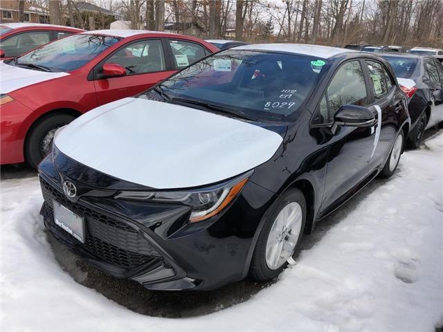 2019 Toyota Corolla Hatchback Base (Stk: 192190) in Burlington - Image 1 of 5