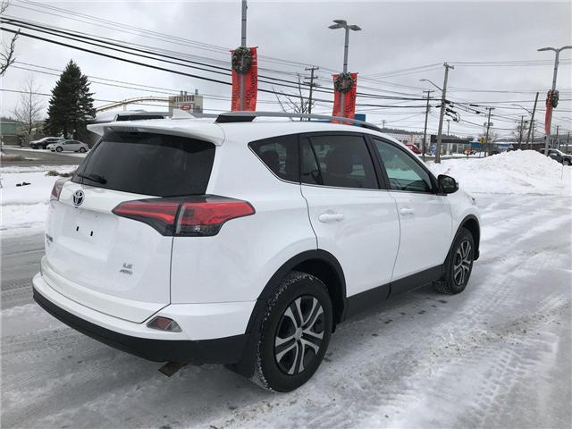 2017 Toyota RAV4 LE (Stk: P549201) in Saint John - Image 6 of 32