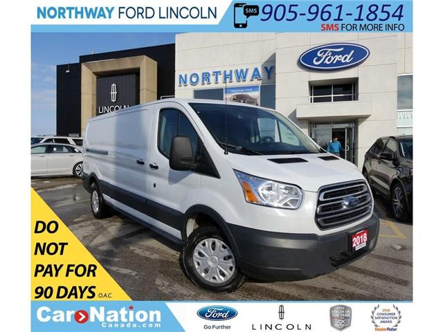 2018 Ford Transit 250 | BACKUP CAM & SENSORS | VINYL FLOOR | (Stk: W2971) in Brantford - Image 1 of 30