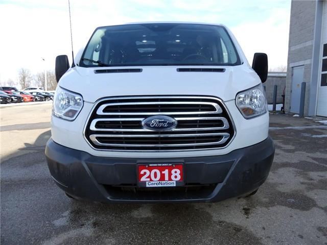 2018 Ford Transit 250 | BACKUP CAM & SENSORS | VINYL FLOOR | (Stk: W2971) in Brantford - Image 2 of 30
