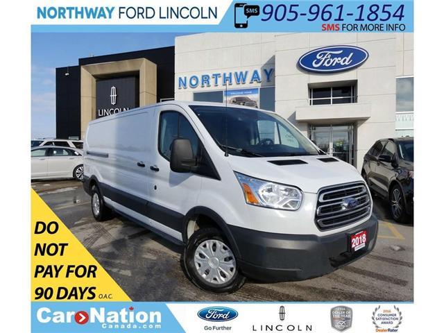 2018 Ford Transit 250 | BACKUP CAM & SENSORS | VINYL FLOOR | (Stk: W2970) in Brantford - Image 1 of 30