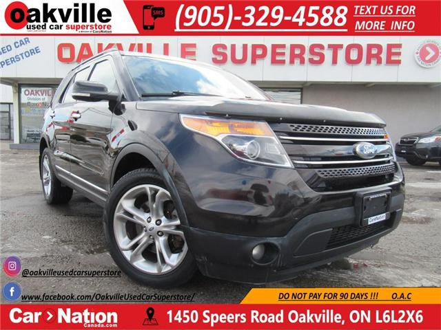 2013 Ford Explorer LIMITED | BACK UP CAM | NAVI | 7 SEATS | HTD SEATS (Stk: P11838) in Oakville - Image 1 of 27