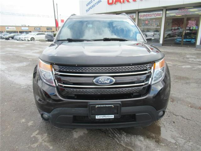 2013 Ford Explorer LIMITED | BACK UP CAM | NAVI | 7 SEATS | HTD SEATS (Stk: P11838) in Oakville - Image 2 of 27