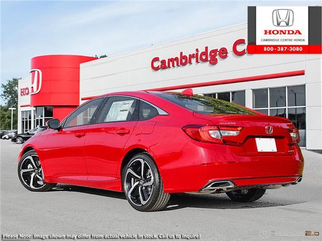 2019 Honda Accord Sport 1.5T (Stk: 19506) in Cambridge - Image 4 of 24