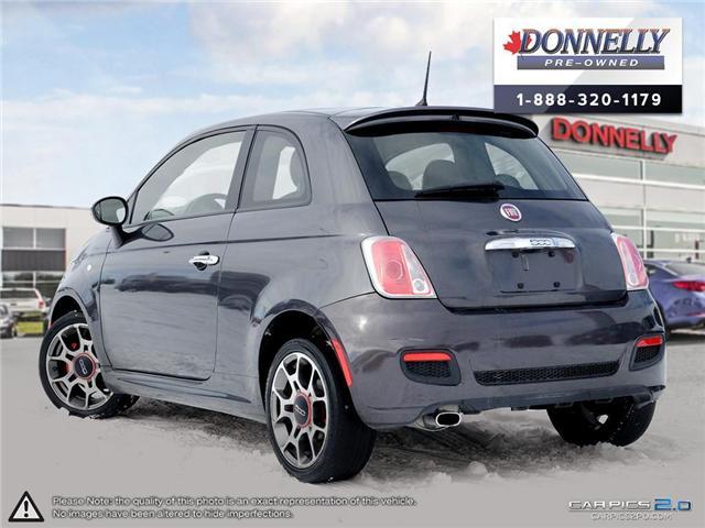2014 Fiat 500 Sport (Stk: PBWKR585DTA) in Kanata - Image 4 of 27