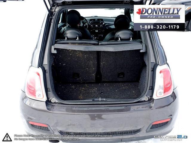 2014 Fiat 500 Sport (Stk: PBWKR585DTA) in Kanata - Image 11 of 27