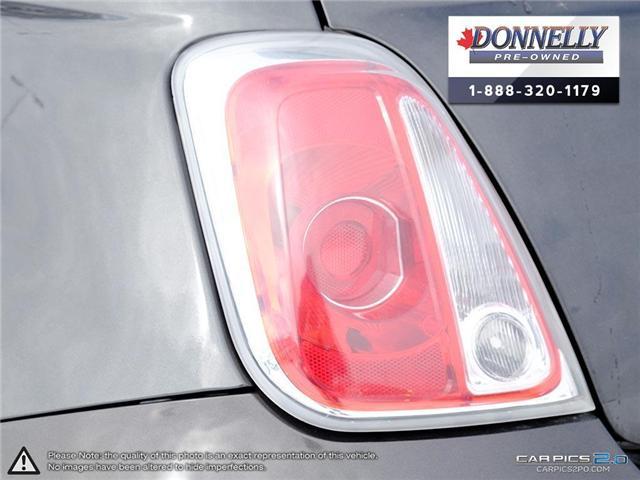 2014 Fiat 500 Sport (Stk: PBWKR585DTA) in Kanata - Image 12 of 27