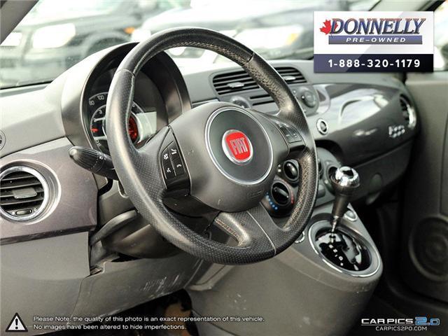 2014 Fiat 500 Sport (Stk: PBWKR585DTA) in Kanata - Image 13 of 27
