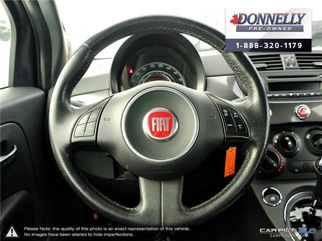 2014 Fiat 500 Sport (Stk: PBWKR585DTA) in Kanata - Image 14 of 27
