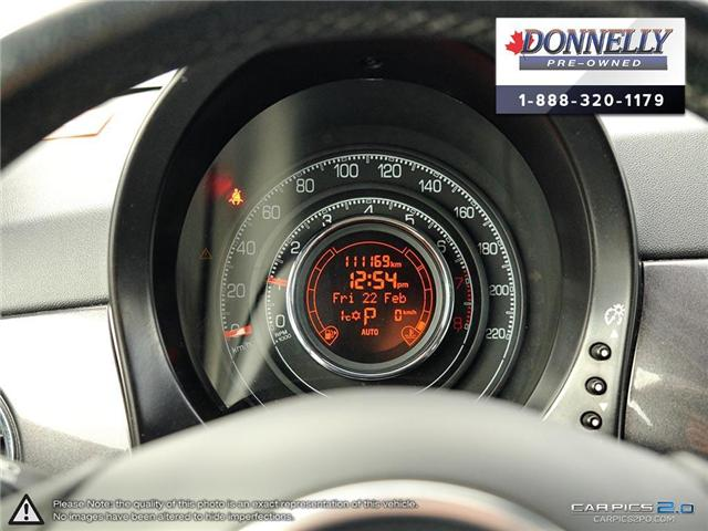 2014 Fiat 500 Sport (Stk: PBWKR585DTA) in Kanata - Image 15 of 27
