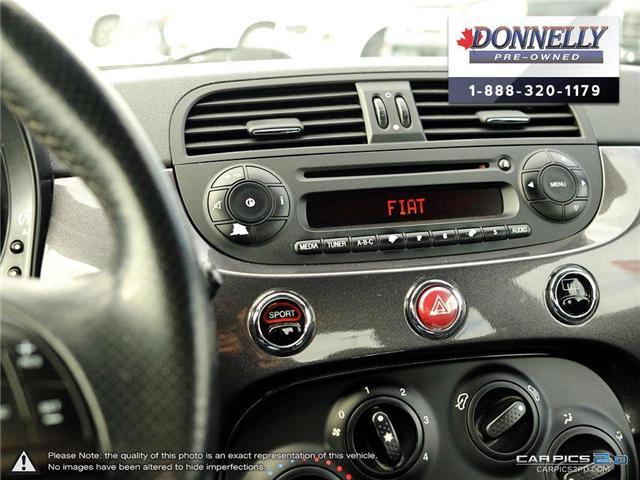 2014 Fiat 500 Sport (Stk: PBWKR585DTA) in Kanata - Image 19 of 27