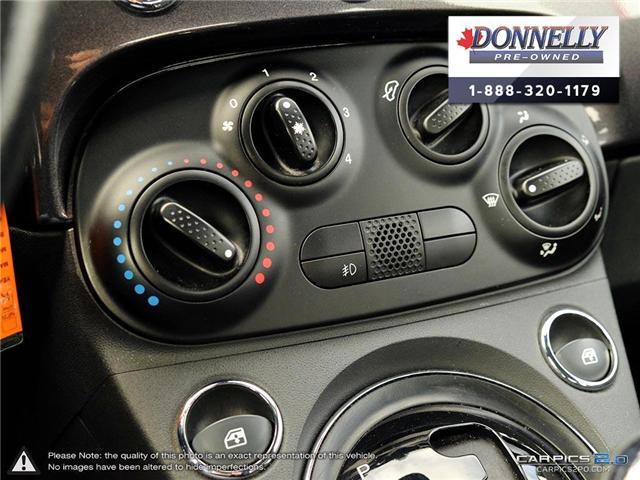 2014 Fiat 500 Sport (Stk: PBWKR585DTA) in Kanata - Image 21 of 27