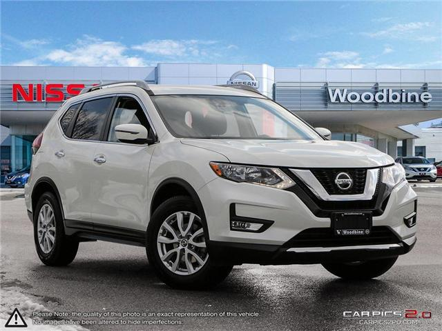 2019 Nissan Rogue SV (Stk: P7234A) in Etobicoke - Image 1 of 27
