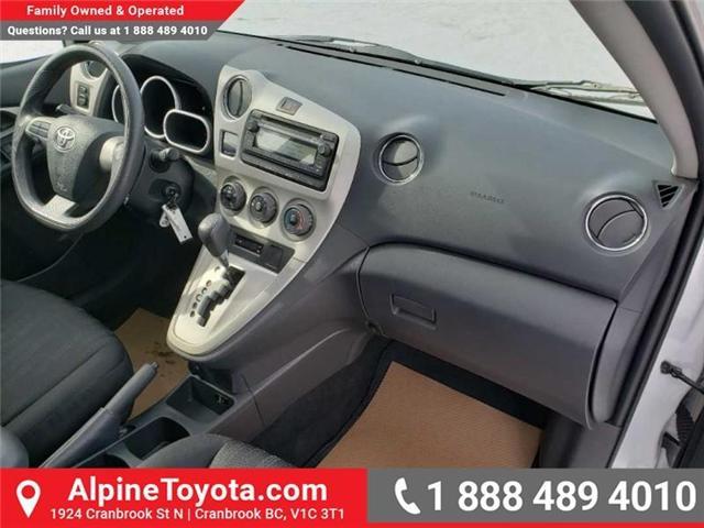 2014 Toyota Matrix Base (Stk: X040883A) in Cranbrook - Image 10 of 16