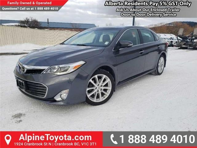 2014 Toyota Avalon XLE (Stk: W007718A) in Cranbrook - Image 1 of 17