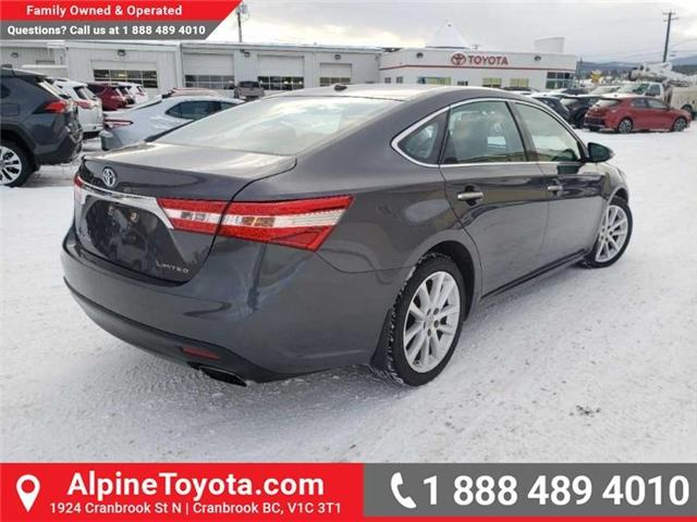 2014 Toyota Avalon XLE (Stk: W007718A) in Cranbrook - Image 5 of 17