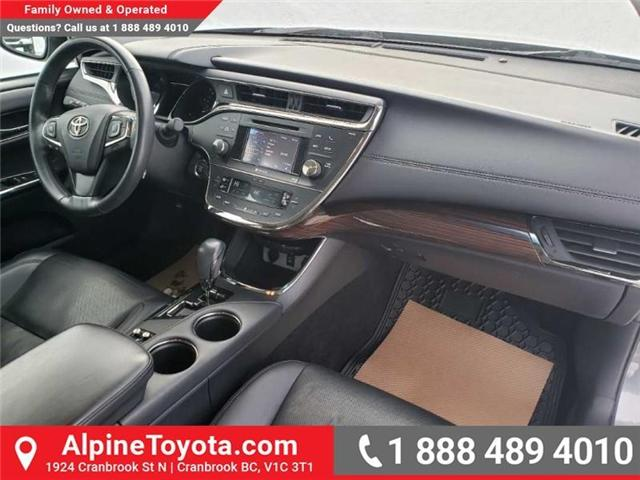 2014 Toyota Avalon XLE (Stk: W007718A) in Cranbrook - Image 11 of 17