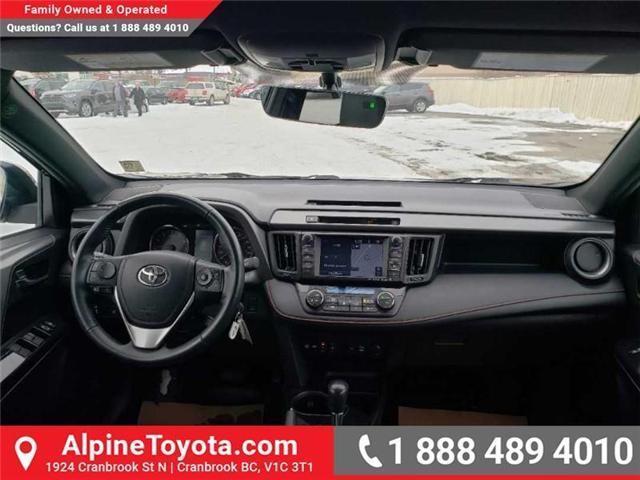 2016 Toyota RAV4 SE (Stk: X032960A) in Cranbrook - Image 10 of 16