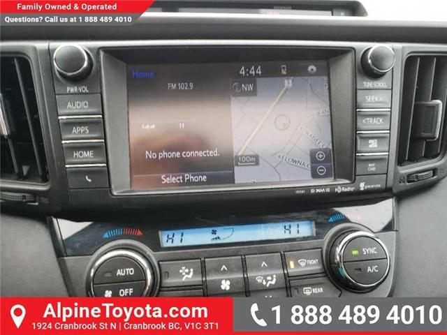 2016 Toyota RAV4 SE (Stk: X032960A) in Cranbrook - Image 12 of 16