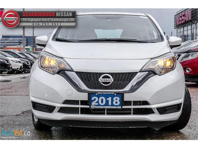 2018 Nissan Versa Note 1.6 SV (Stk: P7688) in Scarborough - Image 10 of 25