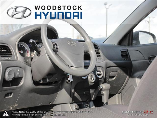 2010 Hyundai Accent GL (Stk: P1361) in Woodstock - Image 6 of 27