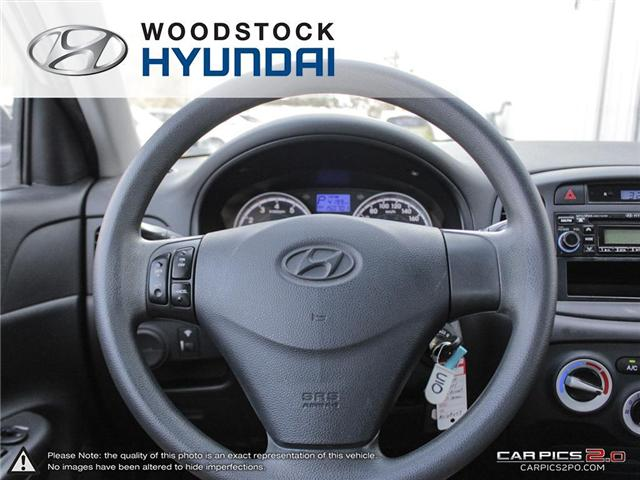 2010 Hyundai Accent GL (Stk: P1361) in Woodstock - Image 7 of 27