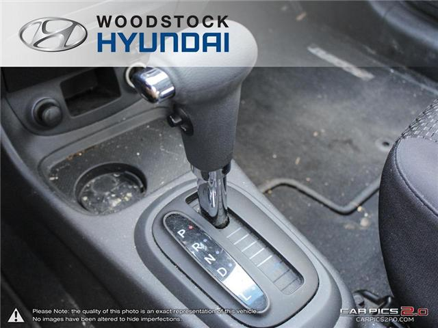 2010 Hyundai Accent GL (Stk: P1361) in Woodstock - Image 12 of 27