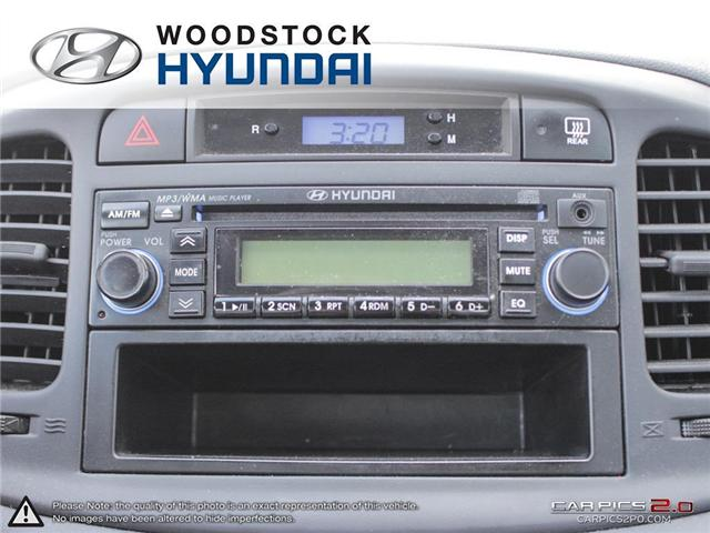 2010 Hyundai Accent GL (Stk: P1361) in Woodstock - Image 14 of 27