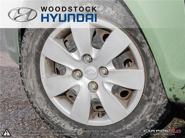 2010 Hyundai Accent GL (Stk: P1361) in Woodstock - Image 21 of 27