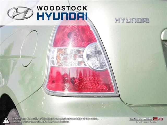 2010 Hyundai Accent GL (Stk: P1361) in Woodstock - Image 27 of 27