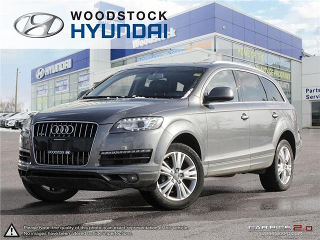 2013 Audi Q7 3.0 TDI Premium (Stk: P1360) in Woodstock - Image 1 of 27
