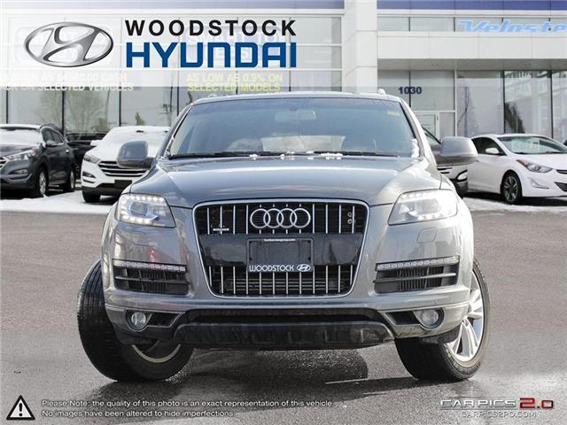 2013 Audi Q7 3.0 TDI Premium (Stk: P1360) in Woodstock - Image 2 of 27