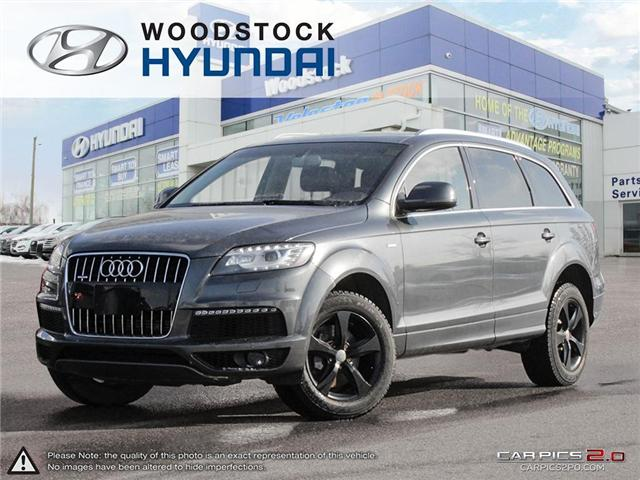 2011 Audi Q7 3.0 Sport (Stk: P1354) in Woodstock - Image 1 of 27